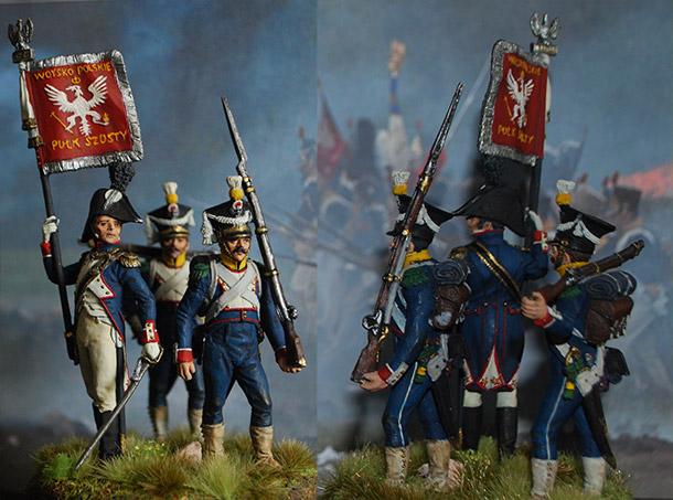 Figures: 6th infantry regt., Duchy of Warsaw