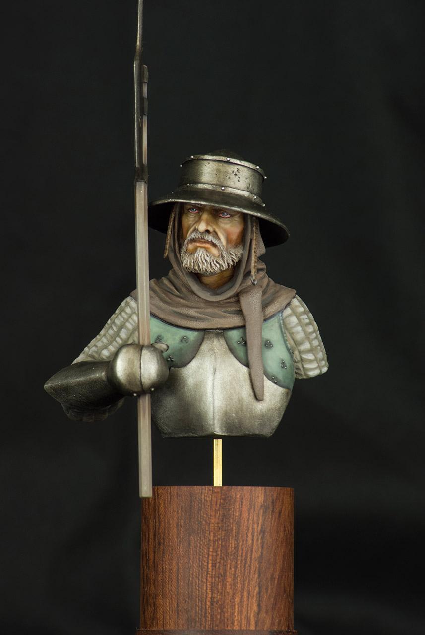 Figures: Mercenary, XV cent., photo #1