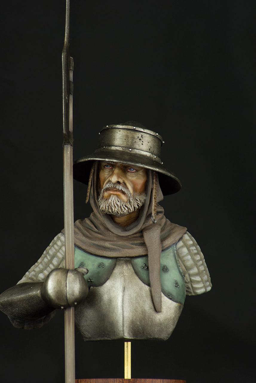 Figures: Mercenary, XV cent., photo #2