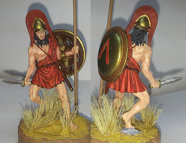 Figures: Battle of Mantinea, 418 B.C.