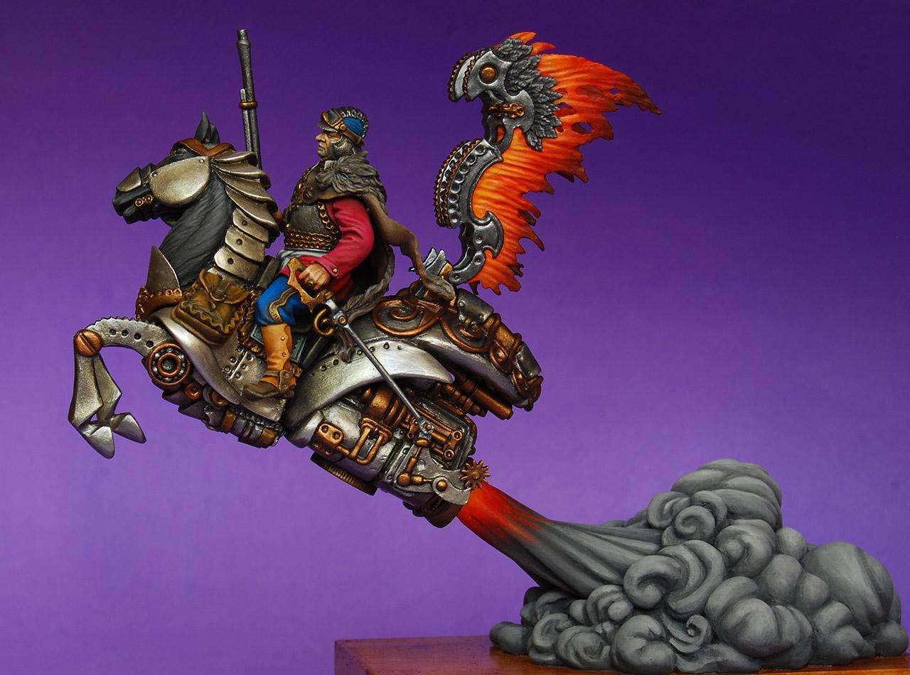 Miscellaneous: Steampunk hussar, photo #1