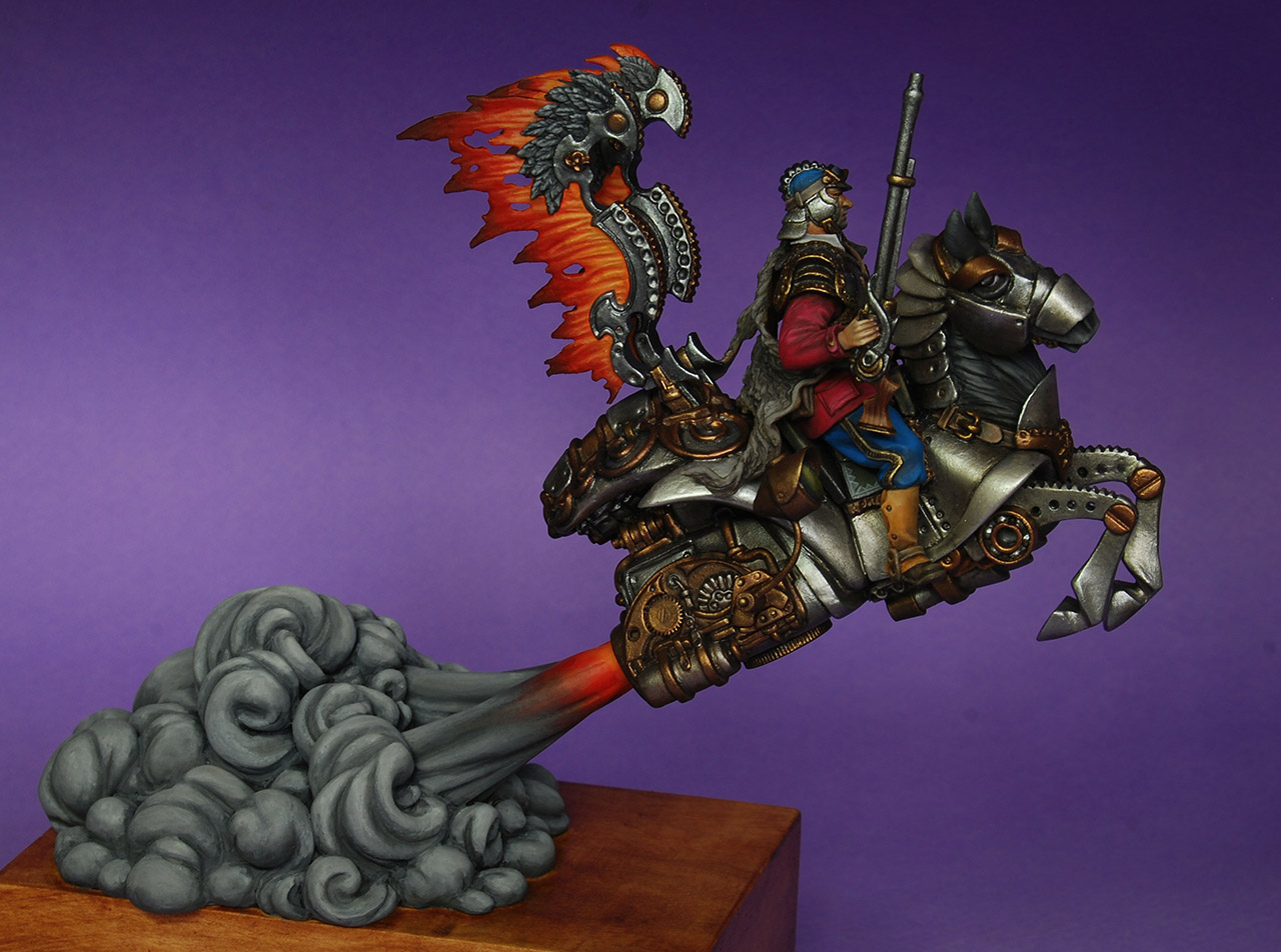 Miscellaneous: Steampunk hussar, photo #2