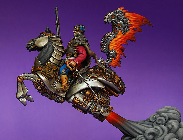 Miscellaneous: Steampunk hussar
