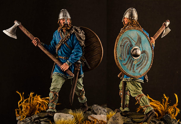 Figures: Viking, IX-X cent.