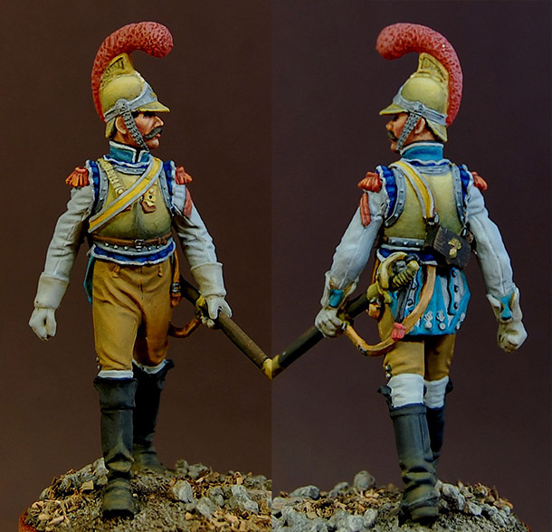Figures: Private of Carabiniers regt., France, 1812