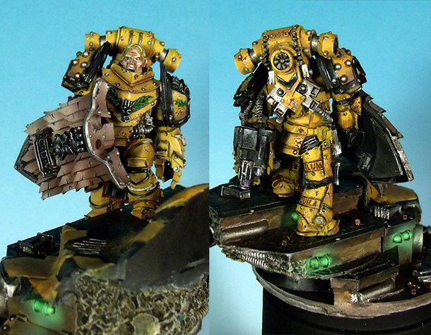 Miscellaneous: Alexis Pollux, Captain of Imperial Fists.