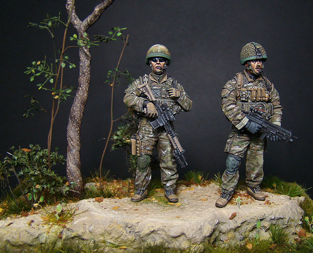 Dioramas and Vignettes: Misson «Afghanistan»