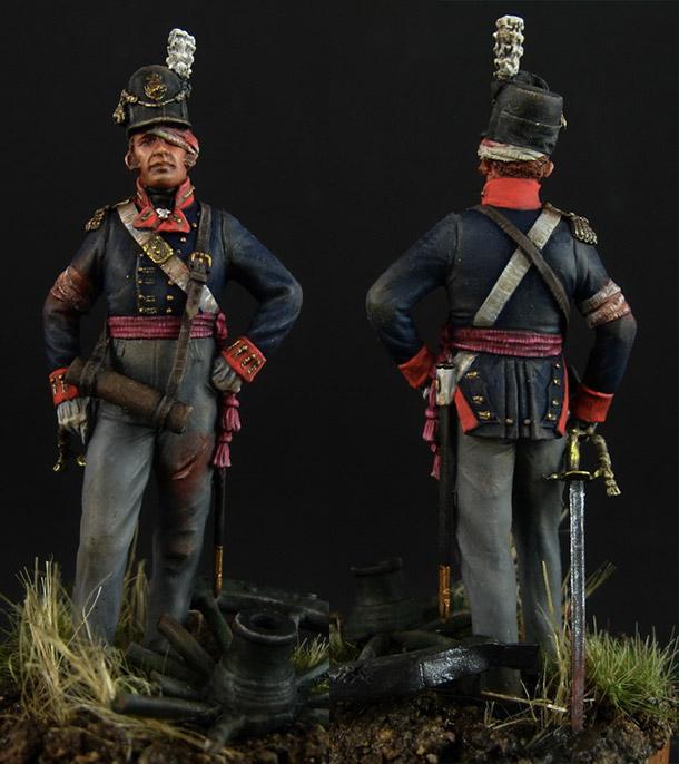 Figures: British officer of foot artillery