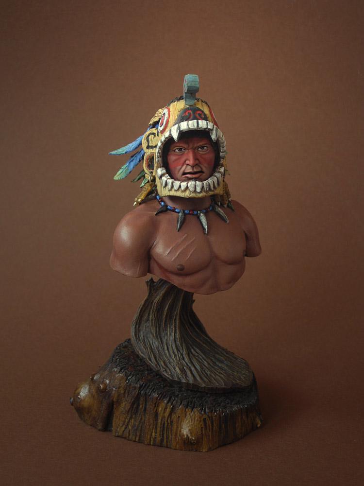 Figures: Aztec warrior, photo #1