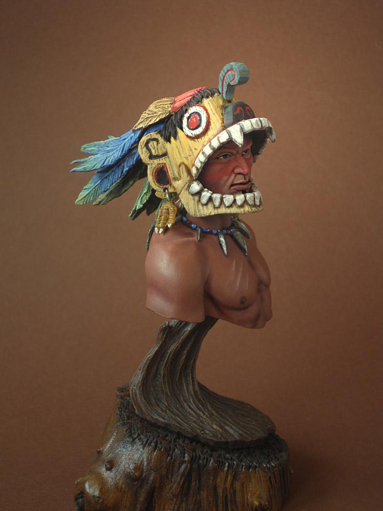 Figures: Aztec warrior, photo #3