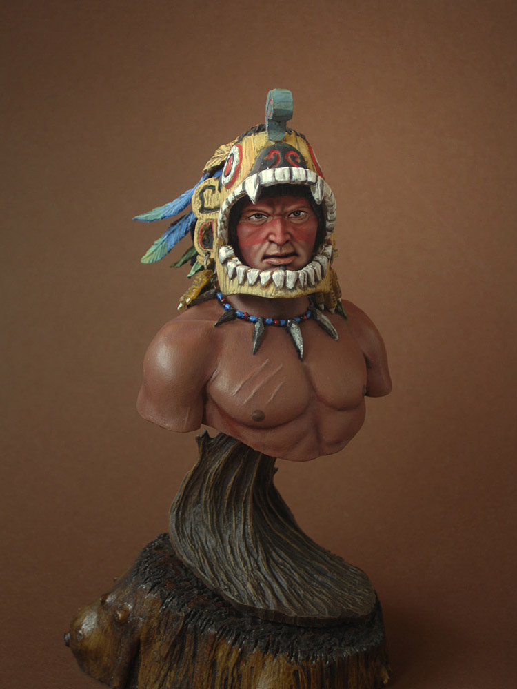 Figures: Aztec warrior, photo #4