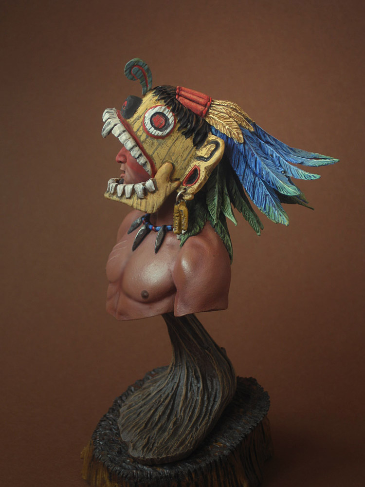 Figures: Aztec warrior, photo #6