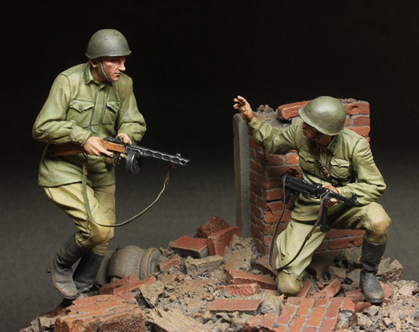 Dioramas and Vignettes: Attack!