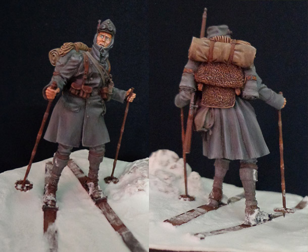 Figures: Austrian-Hungarian mountain trooper, WWI