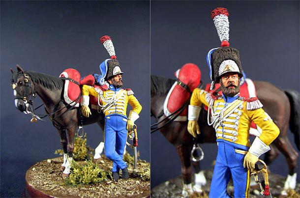 Dioramas and Vignettes: Pioneer, Neapolitan Guard Lancers