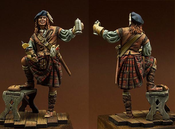 Figures: Scotchman, 1640