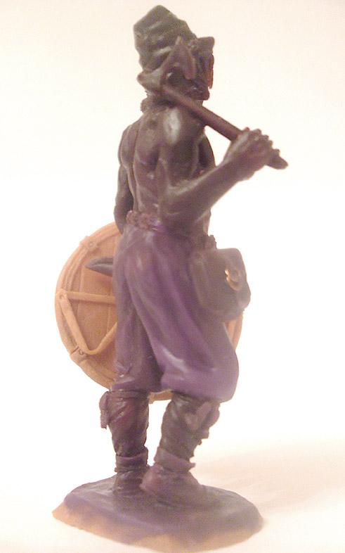 Sculpture: Russian warrior, late X c. A.D., photo #4