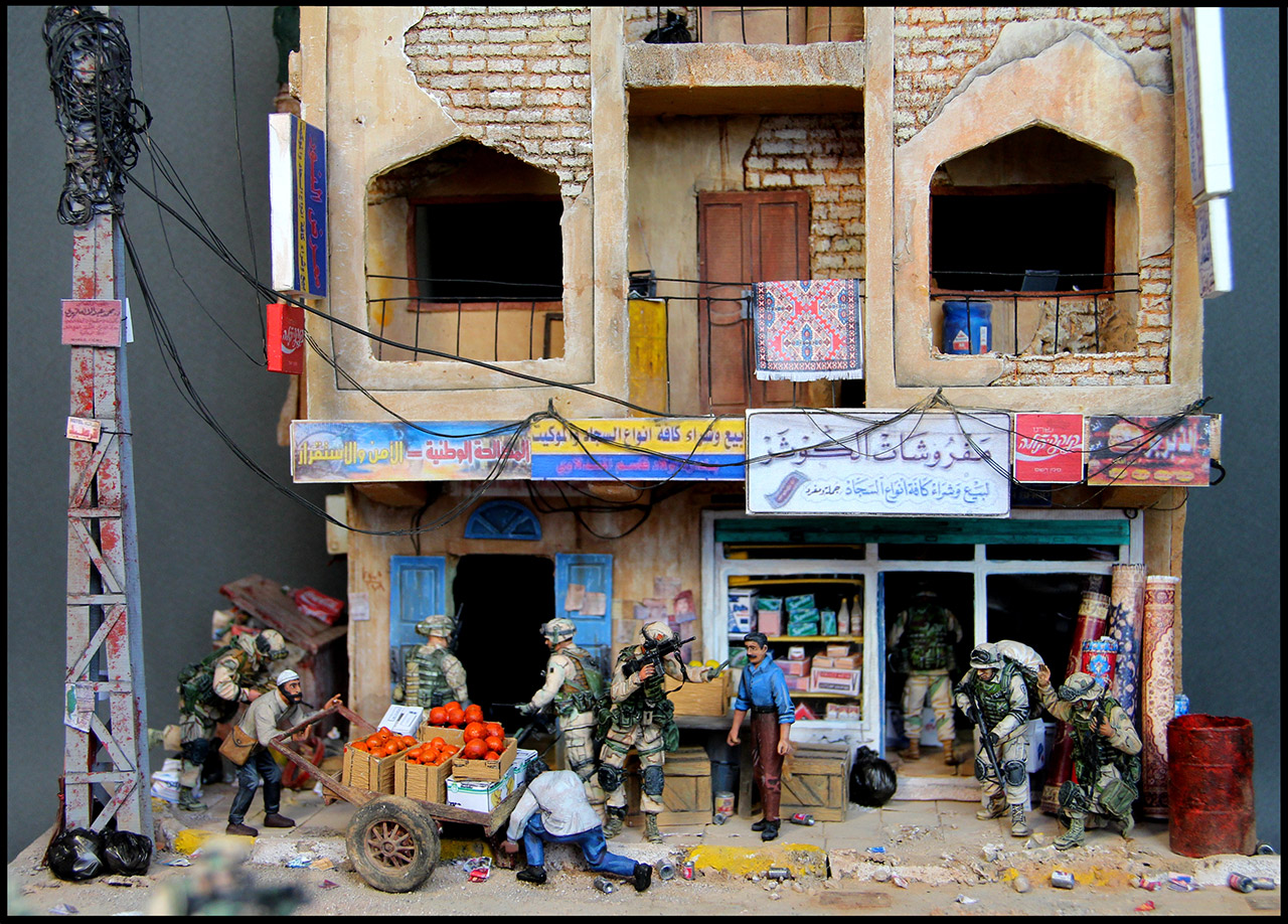 Dioramas and Vignettes: All quiet in Baghdad, photo #3