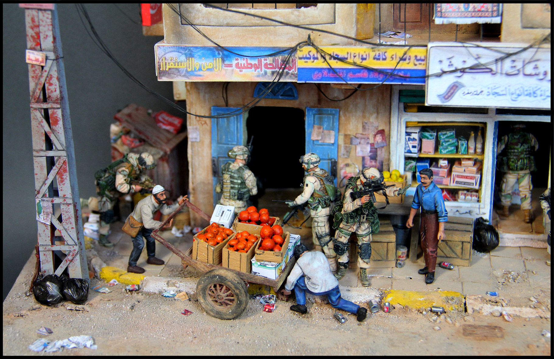 Dioramas and Vignettes: All quiet in Baghdad, photo #4