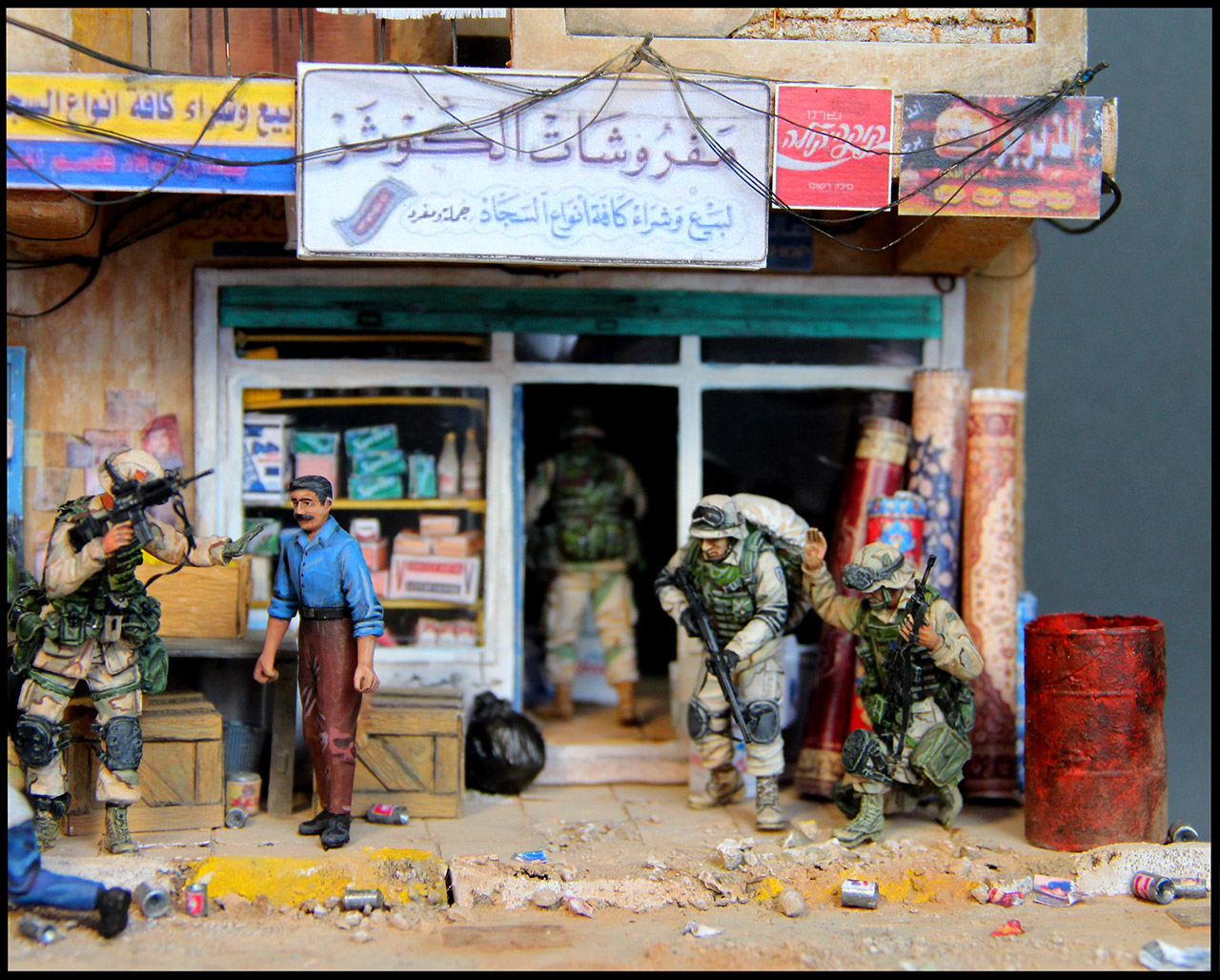 Dioramas and Vignettes: All quiet in Baghdad, photo #5