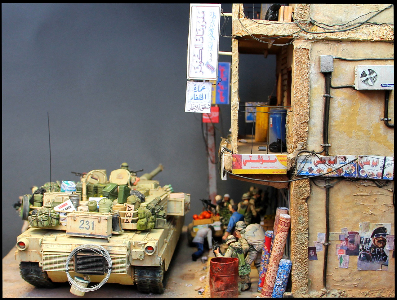 Dioramas and Vignettes: All quiet in Baghdad, photo #6