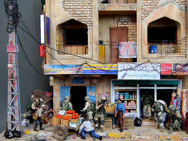 Dioramas and Vignettes: All quiet in Baghdad