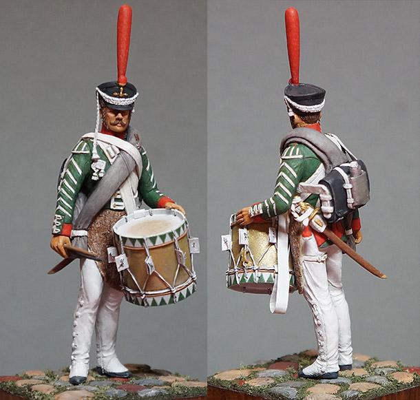 Figures: Drummer, grenadiers regt., 1812-17