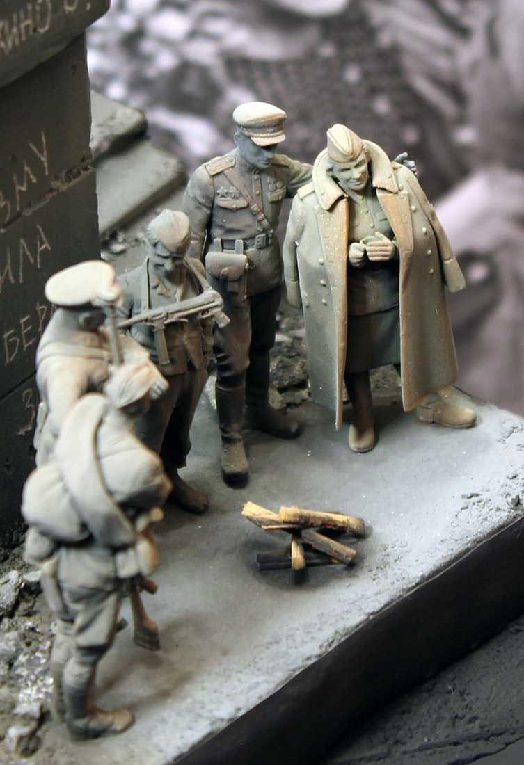 Dioramas and Vignettes: The day the war ended, photo #11