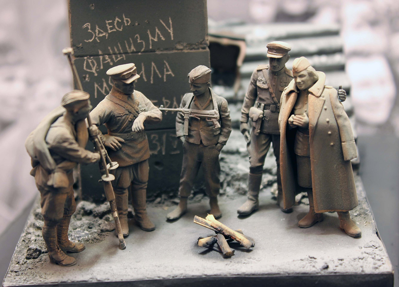 Dioramas and Vignettes: The day the war ended, photo #12