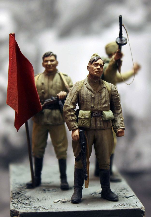 Dioramas and Vignettes: The day the war ended, photo #13