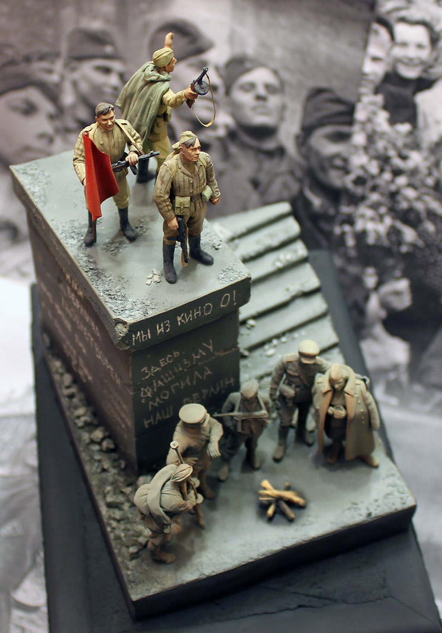 Dioramas and Vignettes: The day the war ended, photo #2