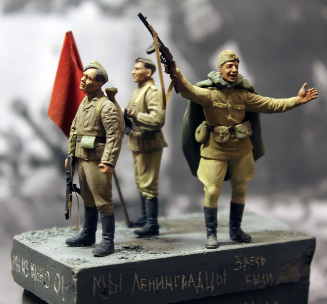 Dioramas and Vignettes: The day the war ended, photo #8