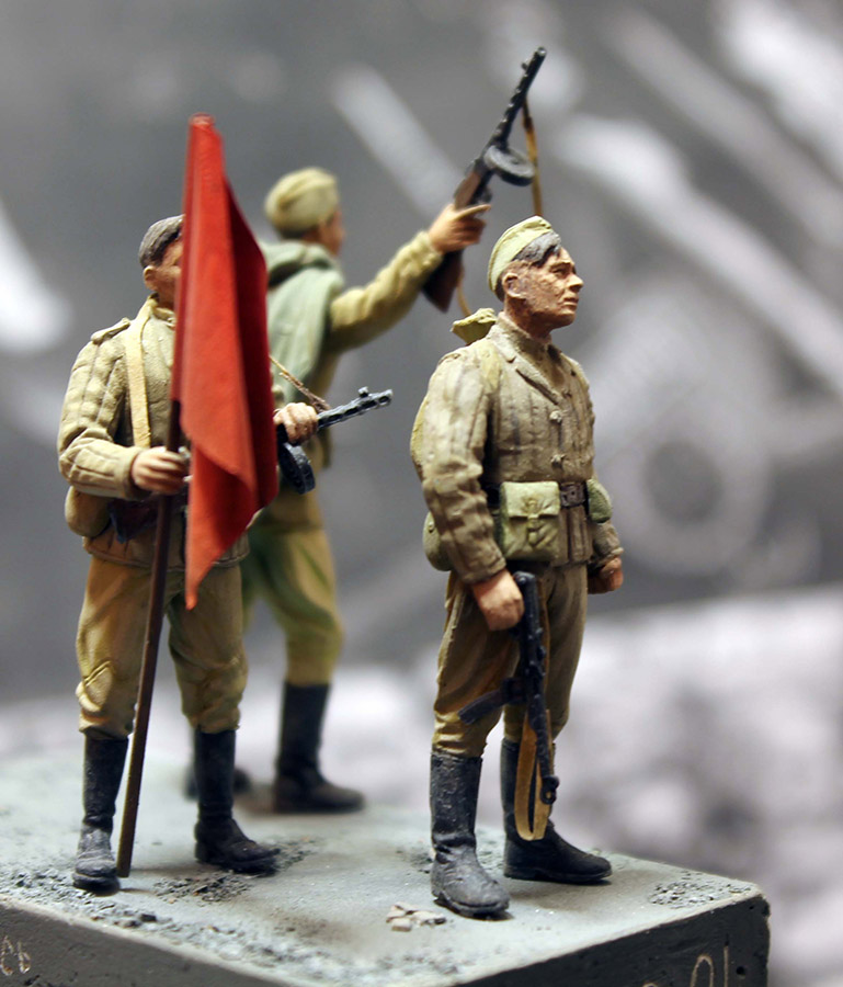 Dioramas and Vignettes: The day the war ended, photo #9