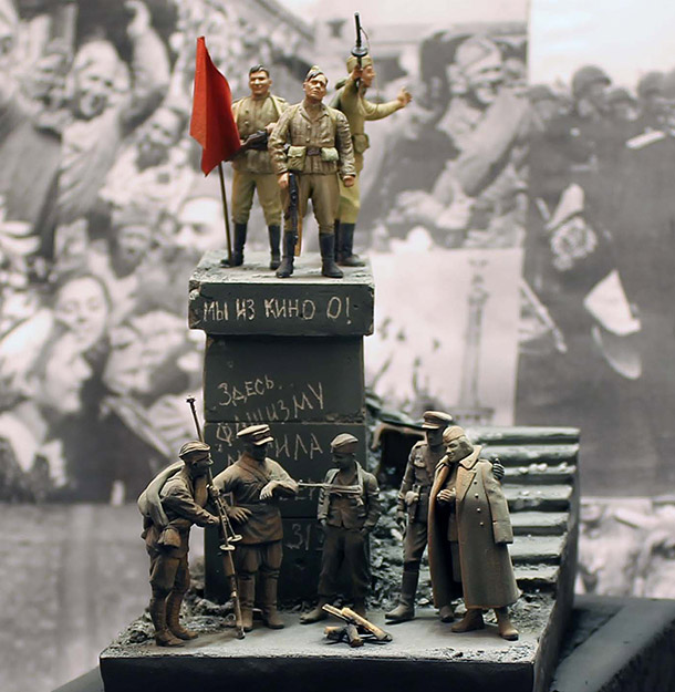 Dioramas and Vignettes: The day the war ended
