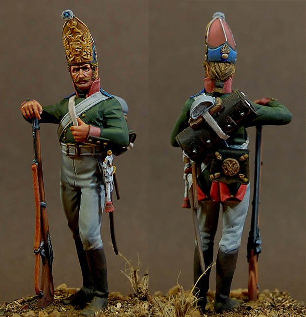 Figures: Grenadier, Galitsky regt., 1805