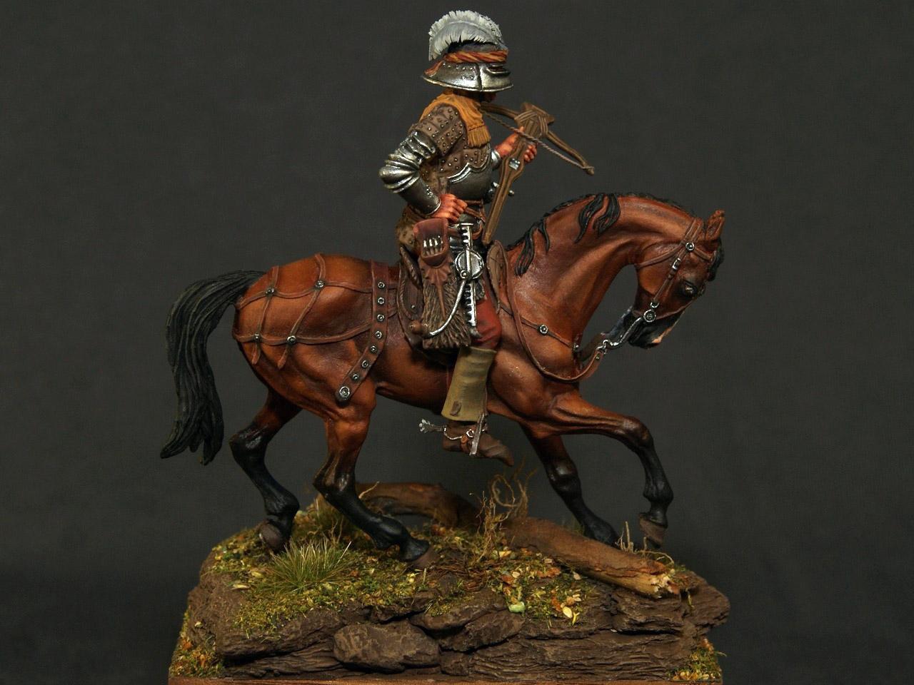 Figures: Swiss crossbowman, XV cent., photo #1