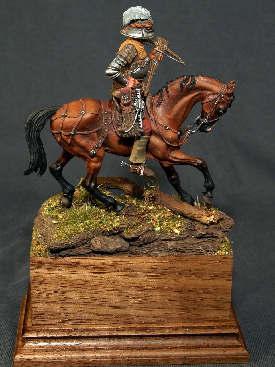 Figures: Swiss crossbowman, XV cent., photo #3