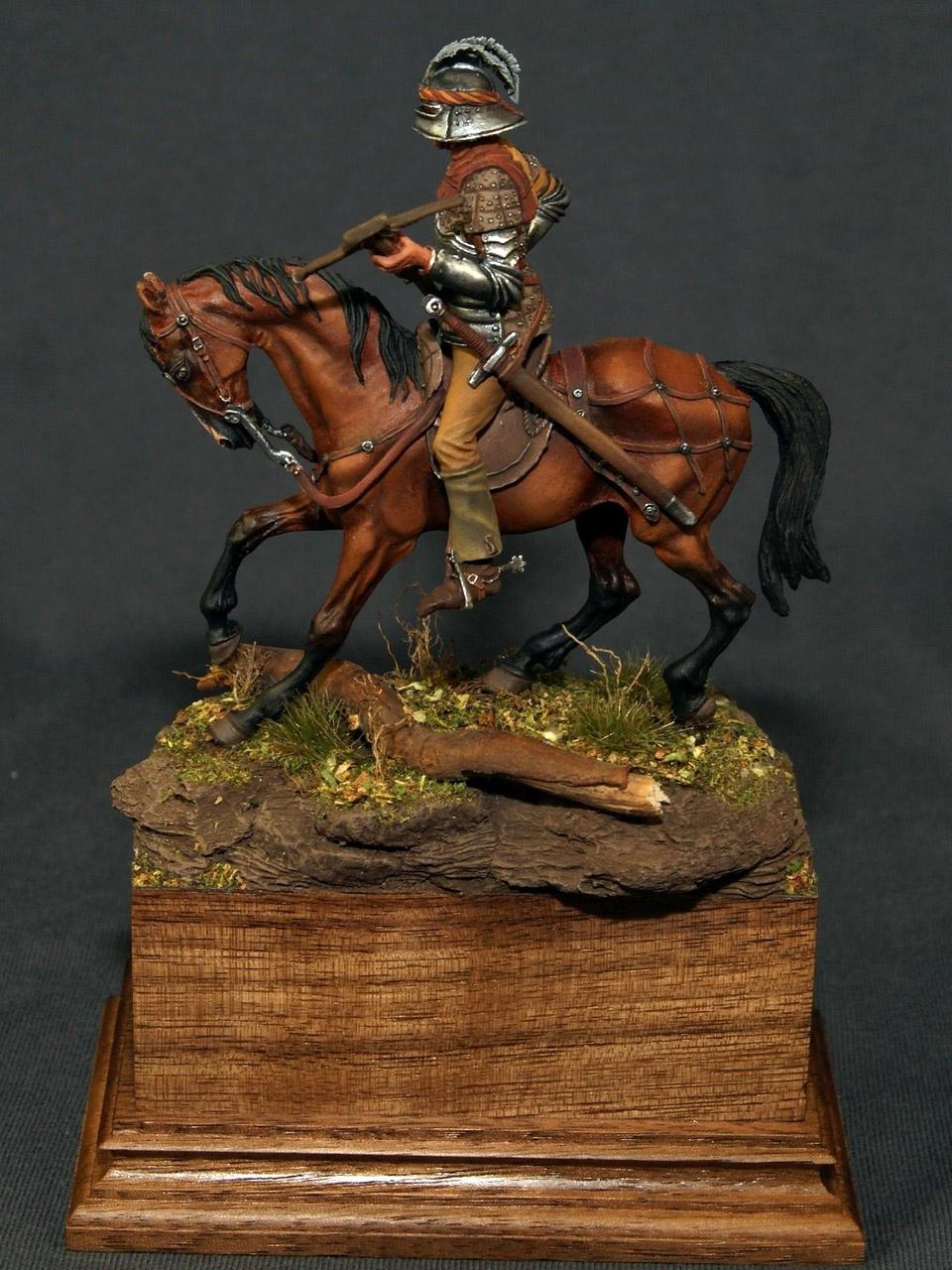 Figures: Swiss crossbowman, XV cent., photo #6