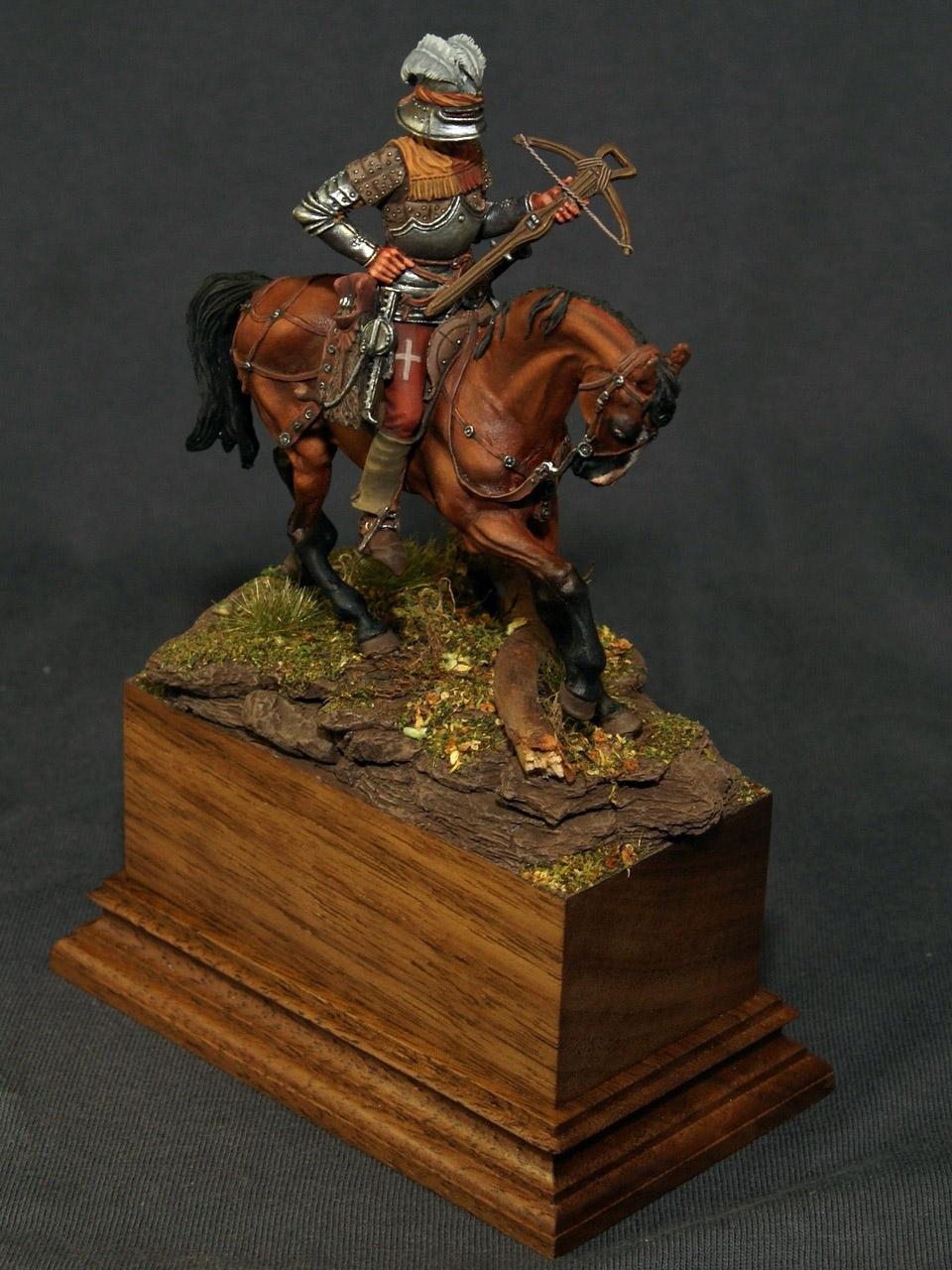 Figures: Swiss crossbowman, XV cent., photo #7