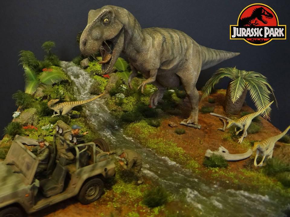 Dioramas and Vignettes: Jurassic Park, photo #1