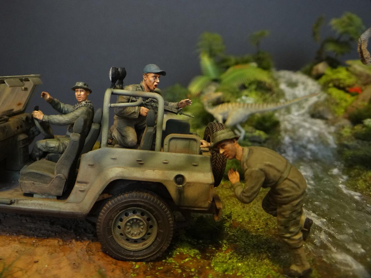 Dioramas and Vignettes: Jurassic Park, photo #10
