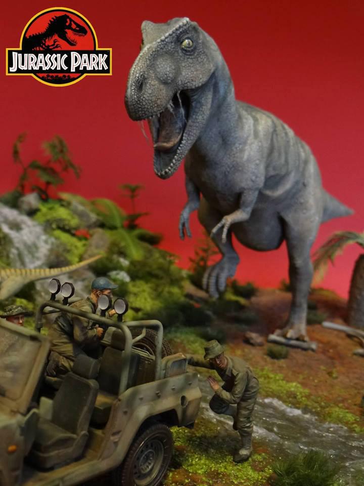 Dioramas and Vignettes: Jurassic Park, photo #3
