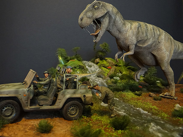 Dioramas and Vignettes: Jurassic Park