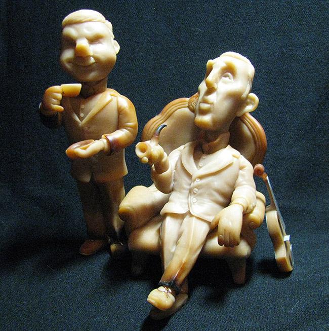 Sculpture: Elementary My Dear Watson! Part 1, photo #1