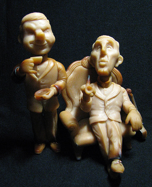 Sculpture: Elementary My Dear Watson! Part 1, photo #3