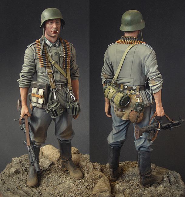 Figures: Wehrmacht infantryman