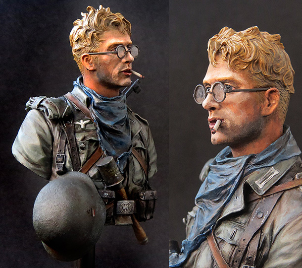 Figures: Wehrmacht infantryman, near Stalingrad