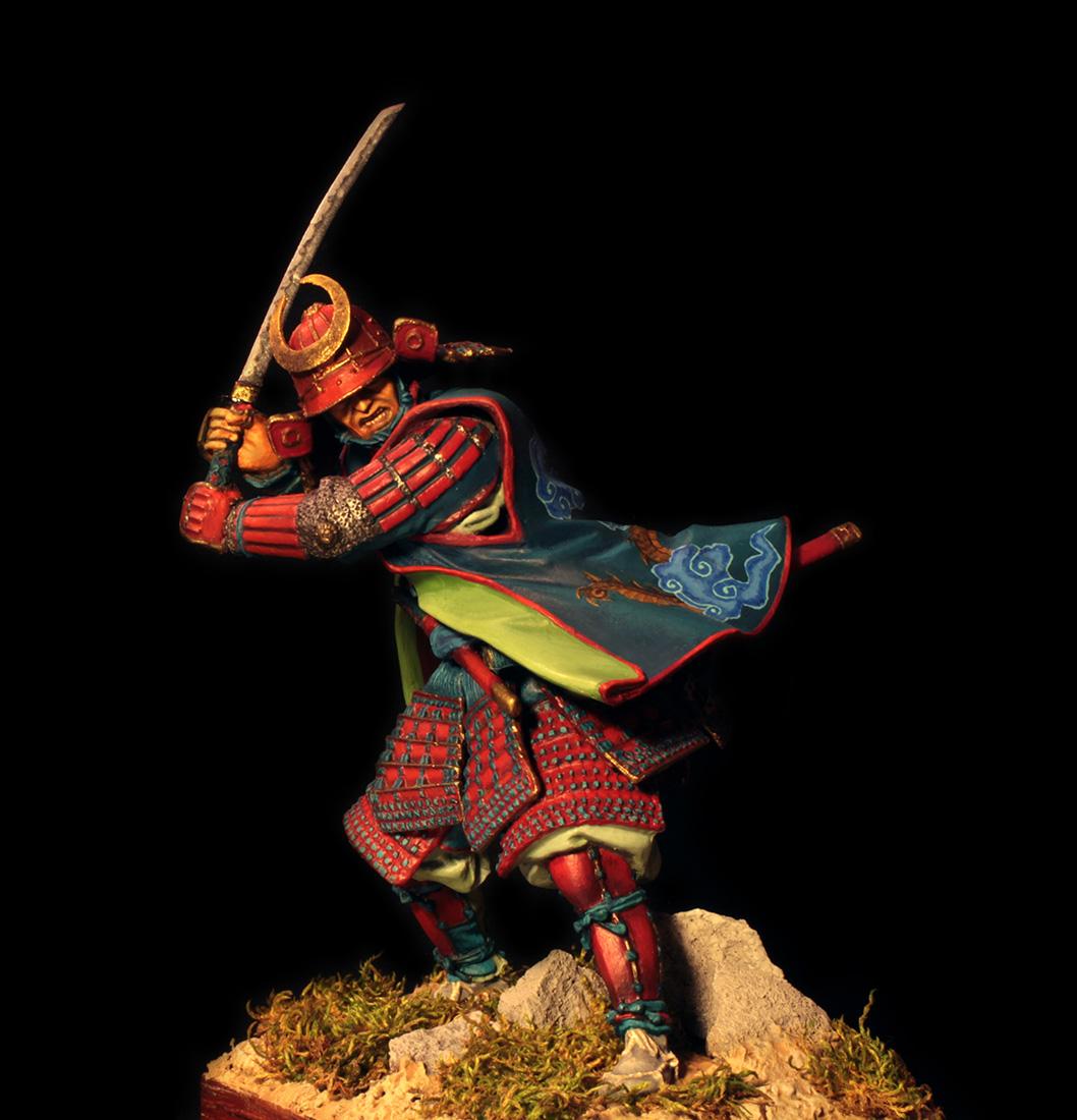 Figures: Samurai, XVI cent., photo #2