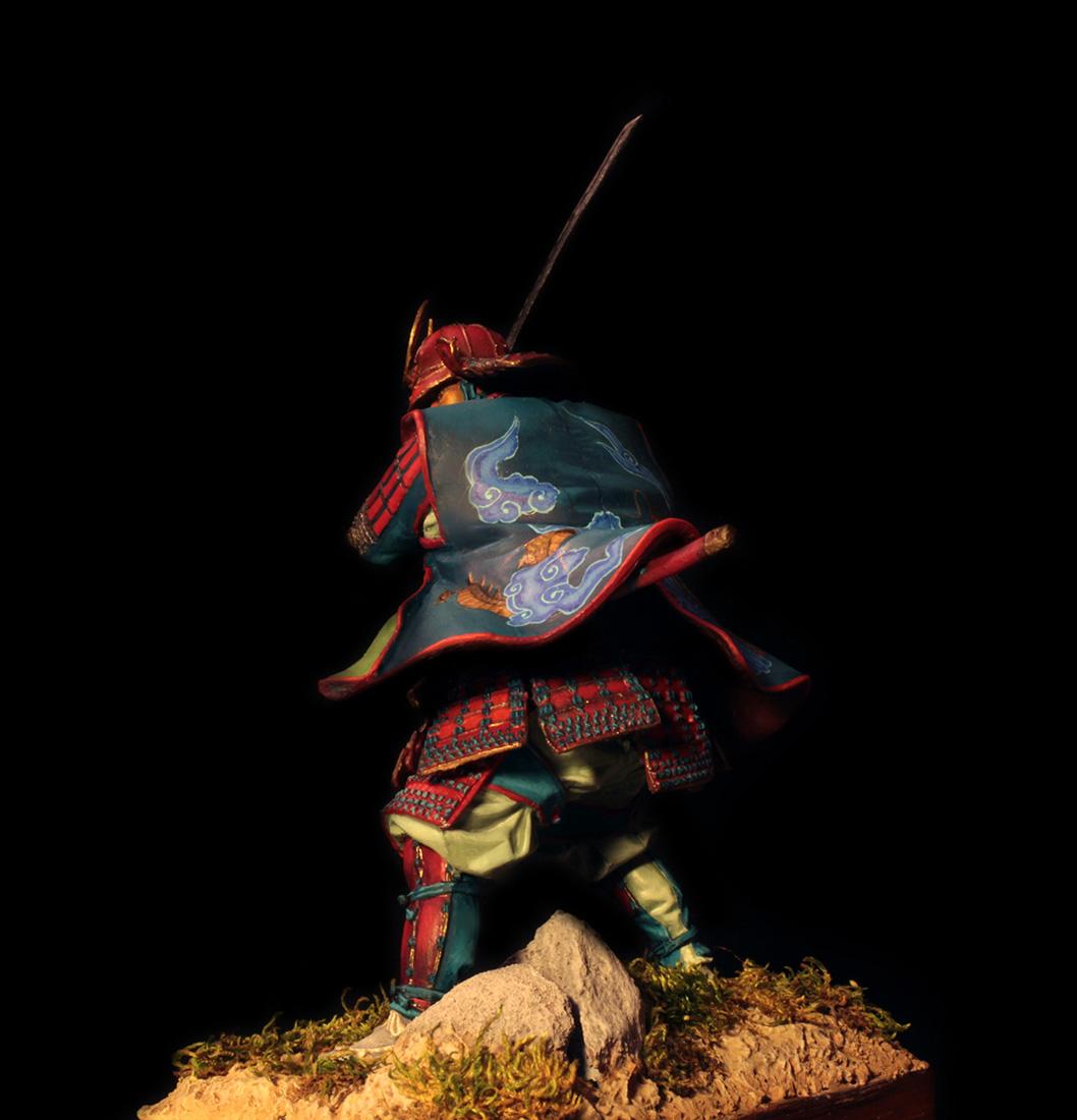 Figures: Samurai, XVI cent., photo #4