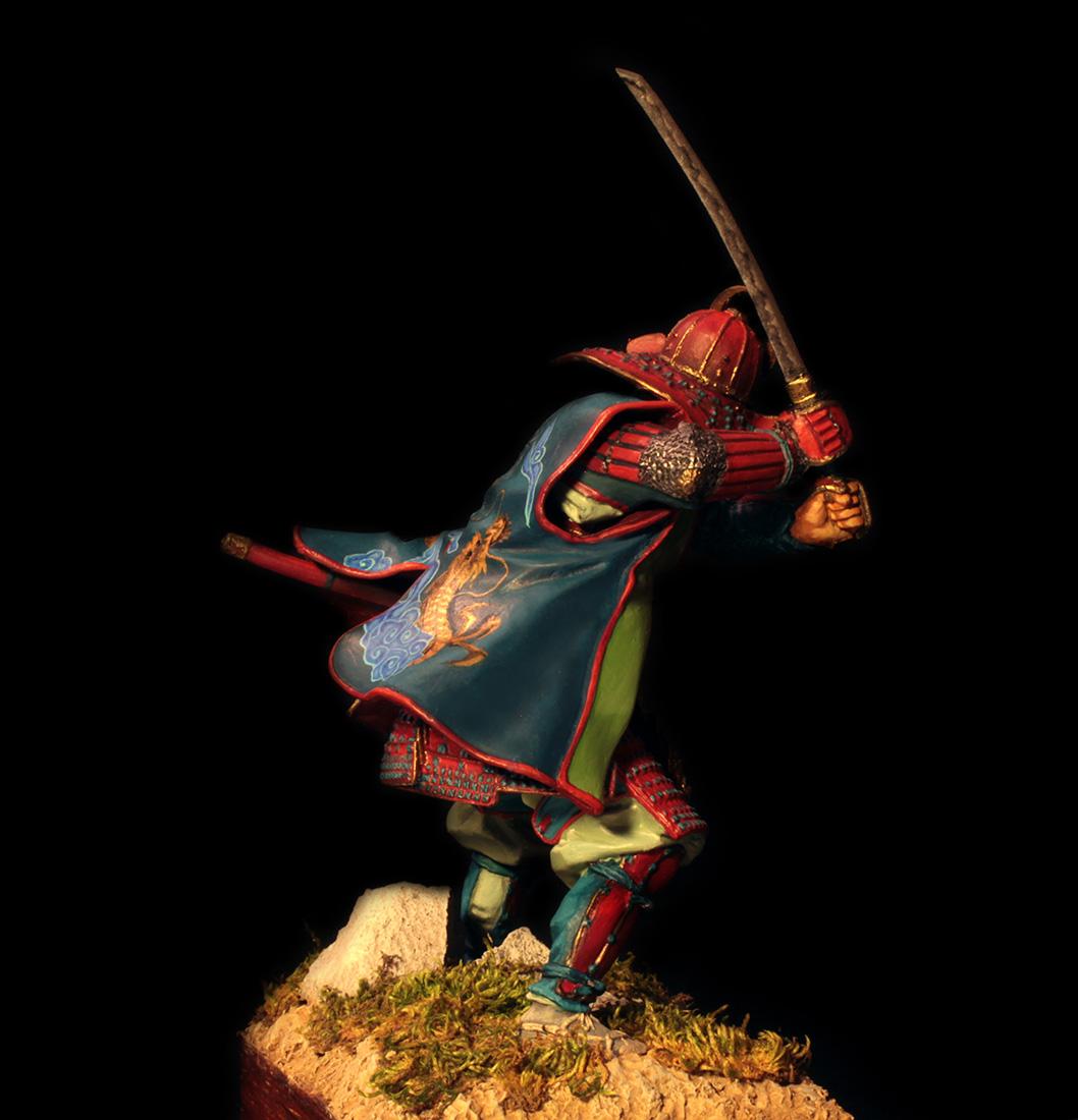 Figures: Samurai, XVI cent., photo #7